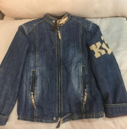 The jacket is jeans warmed for 6-7 years