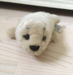 Игрушка тюлень белeк