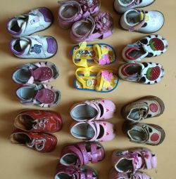 Children's shoes from 17