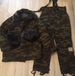 Παλτό παλτό, νέο χειμερινό στρατιωτικό κοστούμι