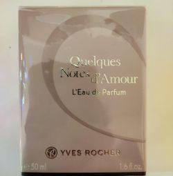 Perfumery water Yves Rocher.