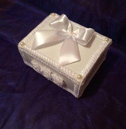 Подарункова коробка шкатулка