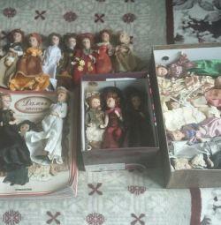 Συλλογή πορσελάνης κούκλας