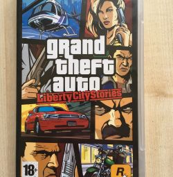 PSP joc GTA Liberty city povești