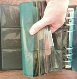 Card holder 30x20. 240 business cards. Spiral. Separators.
