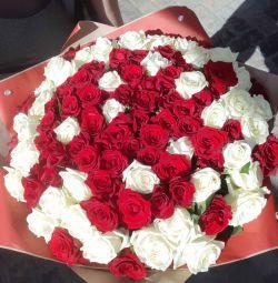 51 roses MIX