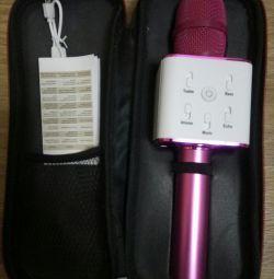 Портативный караоке микрофон