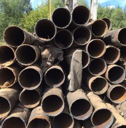 Pipes available metal base 219 x9 mm