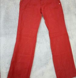 Trousers flax, 44 r