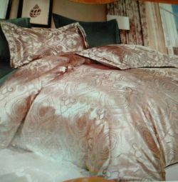 Jacquard 1,5-bed linen set