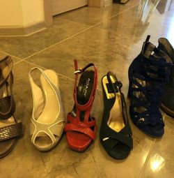 Shoes, sandals, ankle boots, boots 35-36