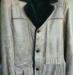 New Turkish sheepskin coat