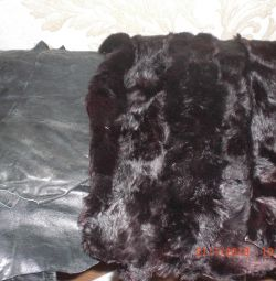 Flap (leather and fur)