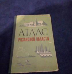 Atlas al regiunii Ryazan 1965