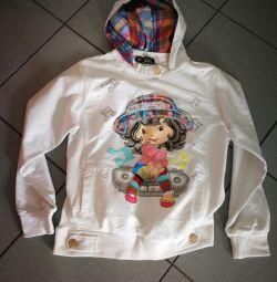 Kızlar için sweatshirt