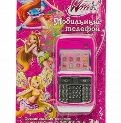 Дитячий мобільний телефон «Winx»