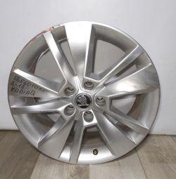 Cast wheel R18 bu Skoda Kodiaq OEM 565601025C