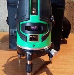 Laser level level 5 beam Green
