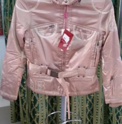 Short-sleeved women's jacket