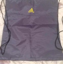The backpack does not get wet. Light new adidas