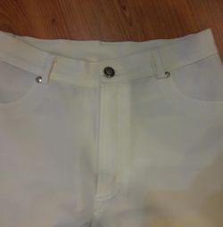 Güzel beyaz pantolon