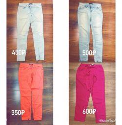Джинсы брюки штаны женские