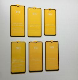 Защитные стёкла А10, А20, А30, А40, А50, А60, А70