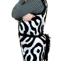 Costum de zebră