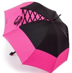 Θεαματικό ομπρέλα με κορδόνια
