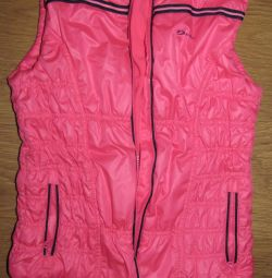 Insulated vest for girls from Demix