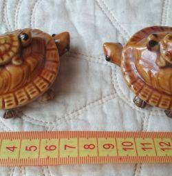 Черепашки керамические