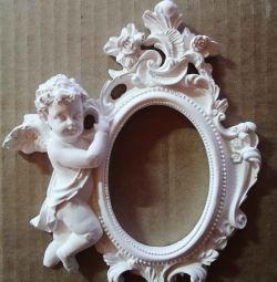 Înger de tencuială