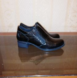 Ботиночки на небольшом каблуке