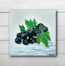 Oil painting currant