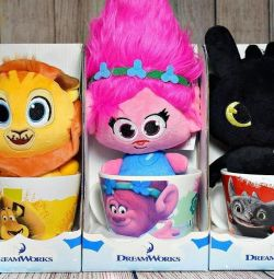 Cană și jucărie (11 tipuri)