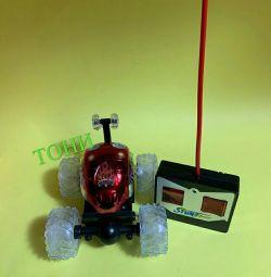Mașină reversibilă controlată radio Stunt