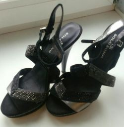 Sandalet, p36, hakiki deri
