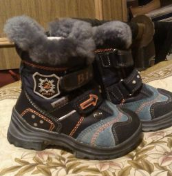 Winter boots for children, size 22