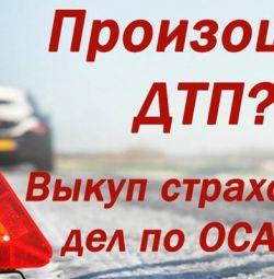 Răscumpărarea cazurilor de asigurare de accident în Krasnodar.