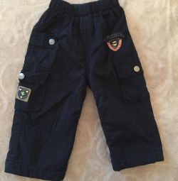 Παντελόνια για ένα αγόρι (ζεστό)