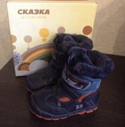 Χειμερινές μπότες παιδιών