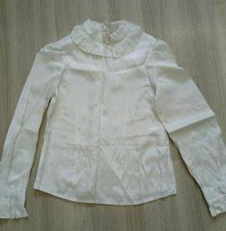 Блузка шкільна р.34