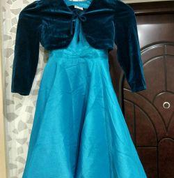 Φόρεμα με μπαλέρο