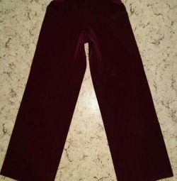 Școală uniformă pentru fată. Pantaloni r146