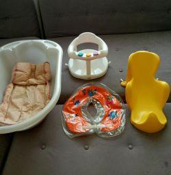 Μπάνιο, κύκλος, διαφάνεια, στρώμα, καρέκλα, θερμόμετρο
