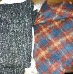 Coat fabric, parka