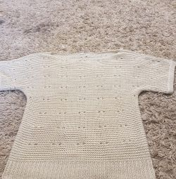 Blouse knitting