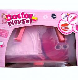 Set of dentist Doctor Playset (15 items)