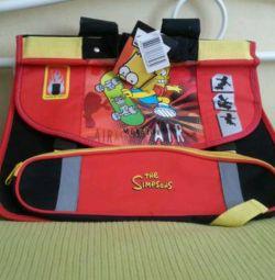 Новий ранець портфель для 1-3 класів