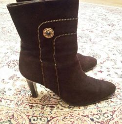 Boots suede, р.38